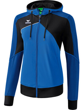 ERIMA Premium One 2.0 Damen Trainingsjacke mit Kapuze